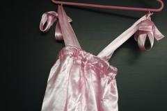 Robe satin rose (11)