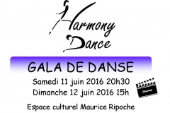 Affiche Gala PO 2016