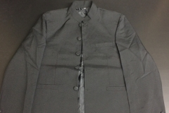 veste costume noire col mao (5)