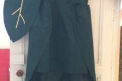 robe feuille