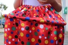 jupe cupcake rouge